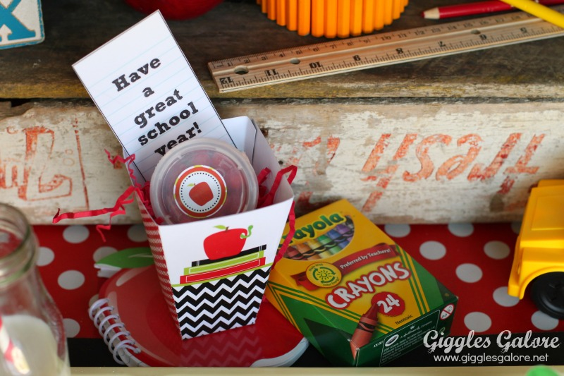 Back to School Breakfast Gifts