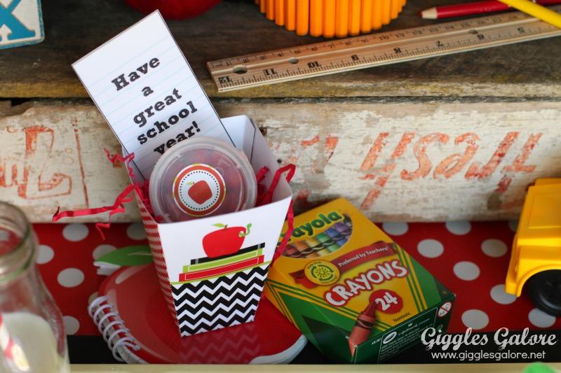Back to School Breakfast Gifts