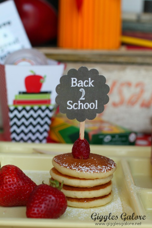 Back to School Breakfast_Pancakes