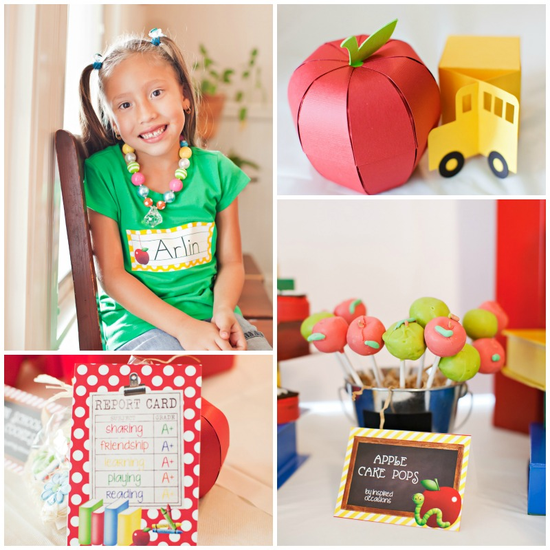 Back to School Party Goodies