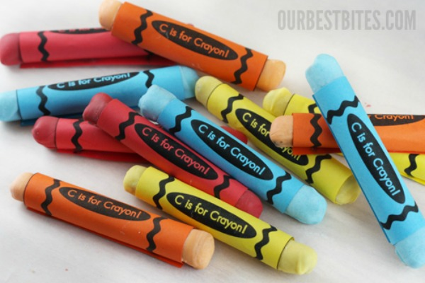Candy-Crayons