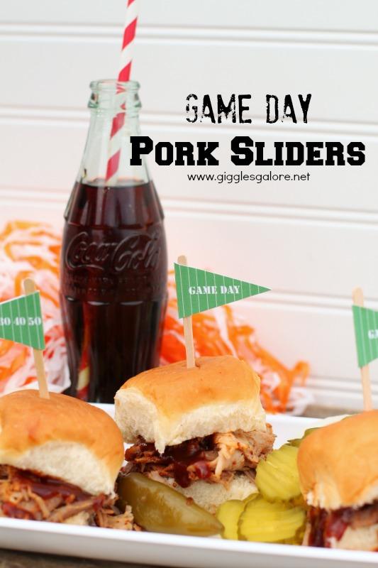 Game Day Pork Sliders