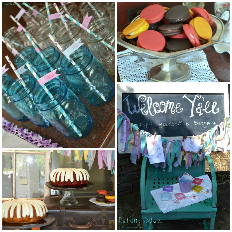 Southern Shabby Chic Baby Shower Giggles Galore
