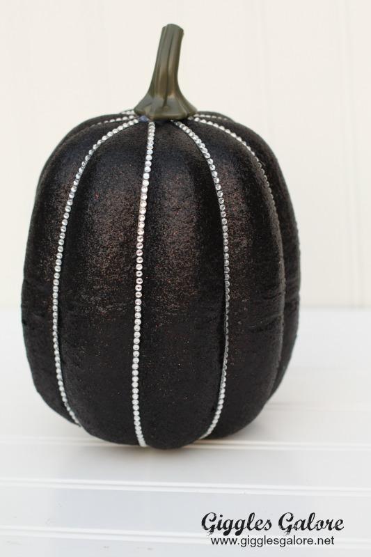 Bling Faux Pumpkin