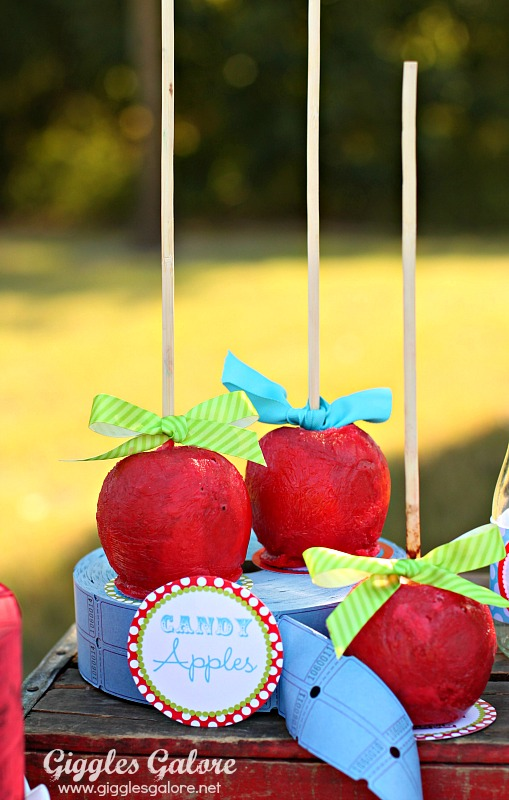 Circus Candy Apples