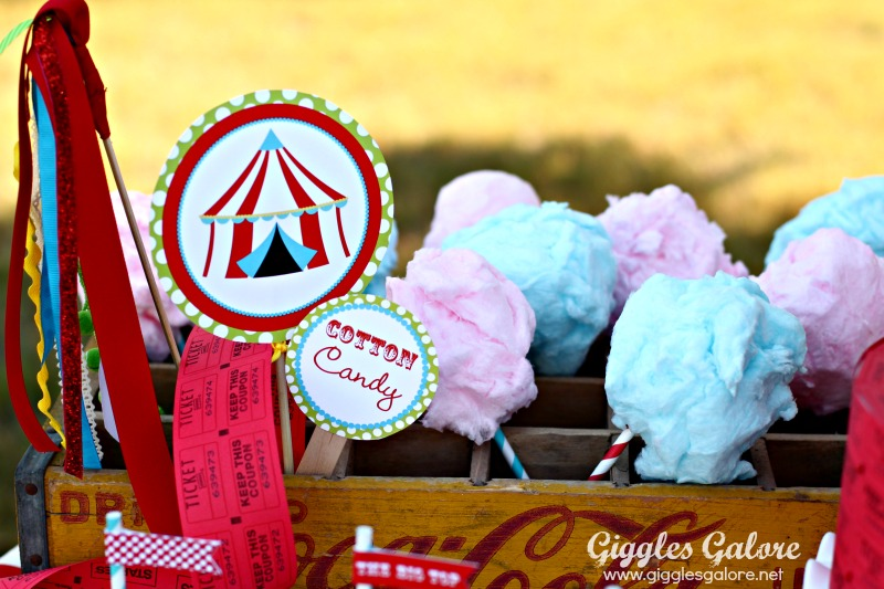 Circus Cotton Candy
