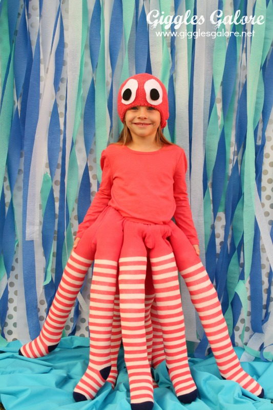 DIY Octopus Costume Giggles Galore