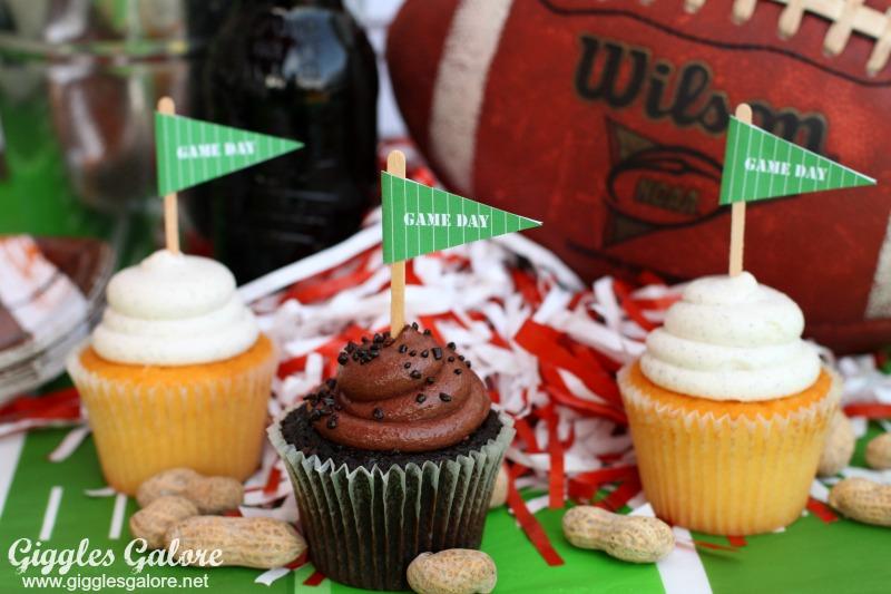 Game Day Cupcake