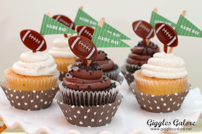 Game Day Cupcakes Tailgate Party