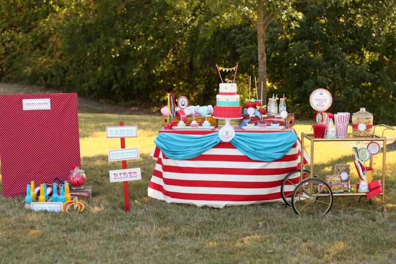 Giggles Galore Circus Party