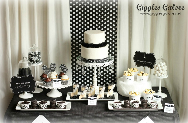 Giggles Galore Mummy Dessert Table