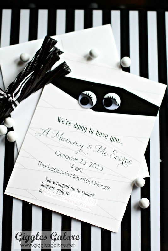 Mummy and Me Soiree Invitation