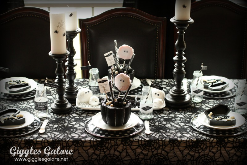 Mummy and Me Soiree Table Setting