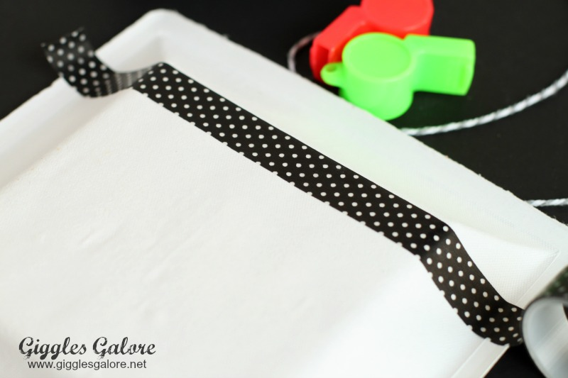 Washi Tape Referee Banner
