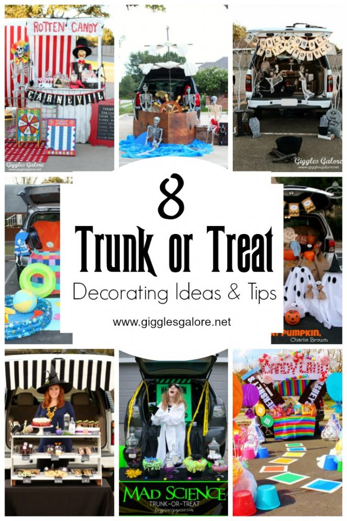 Halloween Trunk or Treat Decorating Ideas & Tips