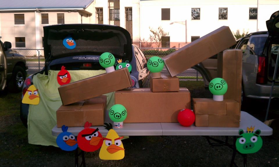 Angry Birds Trunk or Treat : trunk r treat decorating ideas - www.pureclipart.com