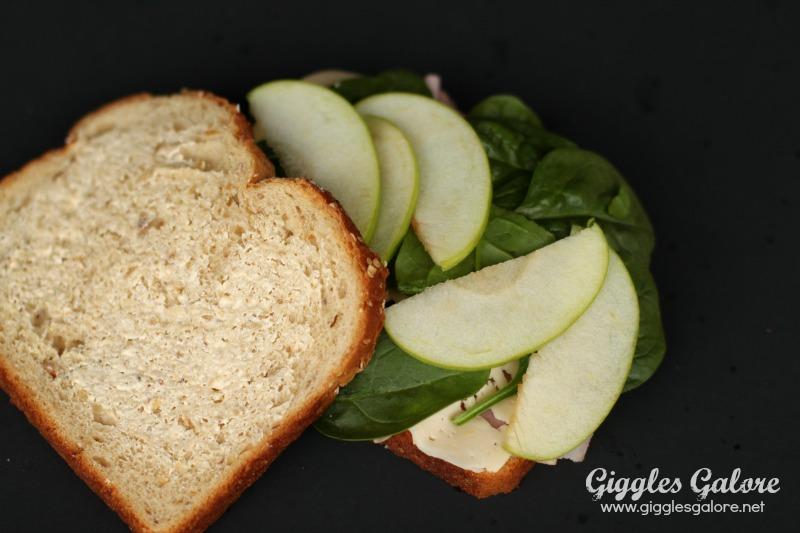 Apple Ham Panini
