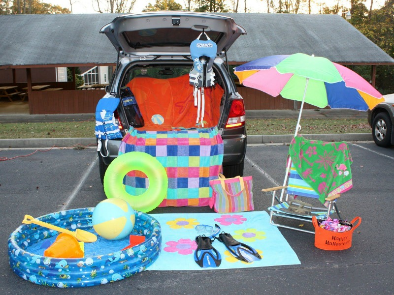 Beach Trunk or Treat Ideas