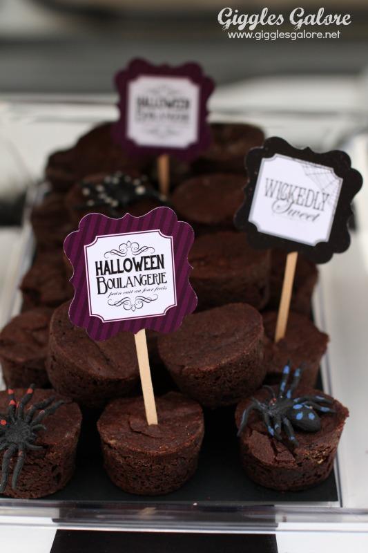 Black Hat Bake Shoppe Brownies