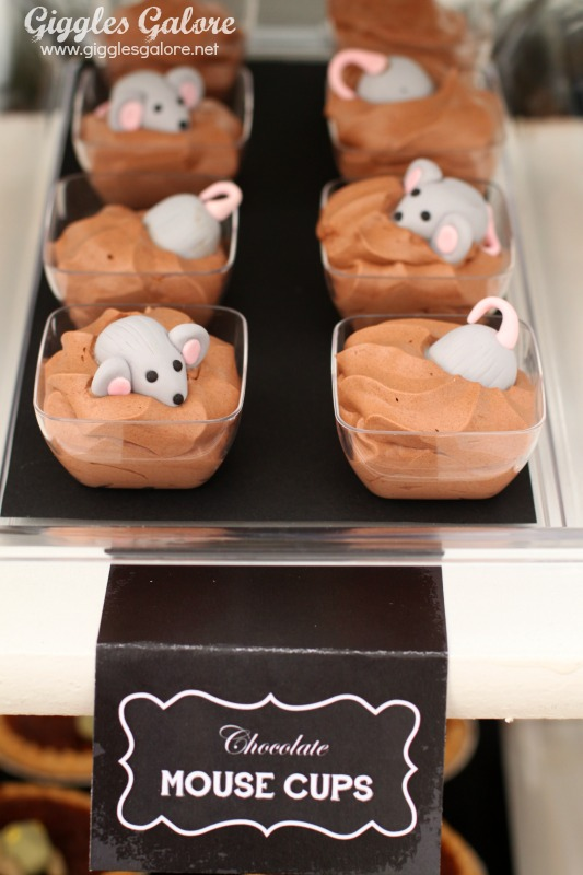 Black Hat Bake Shoppe Chocolate Mouse Cups