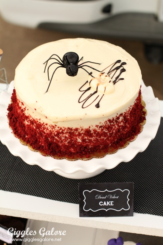 Black Hat Bake Shoppe Dead Velvet Cake