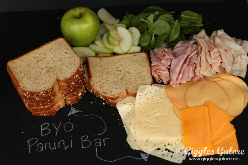 Build Your Own Panini Bar