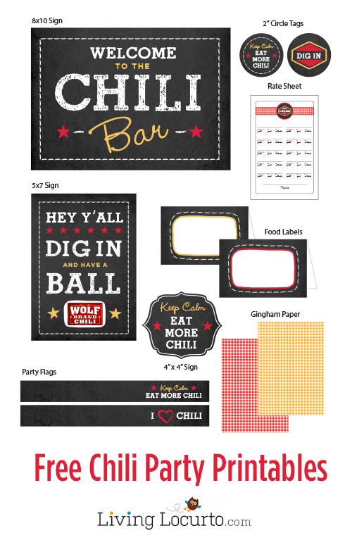 Free-Chili-Party-Printables