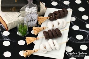 Halloween Broomstick Party Skewers