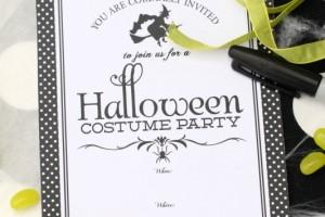 Witches Party Invitations and Free Download