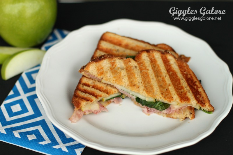 Ham and Apple Panini