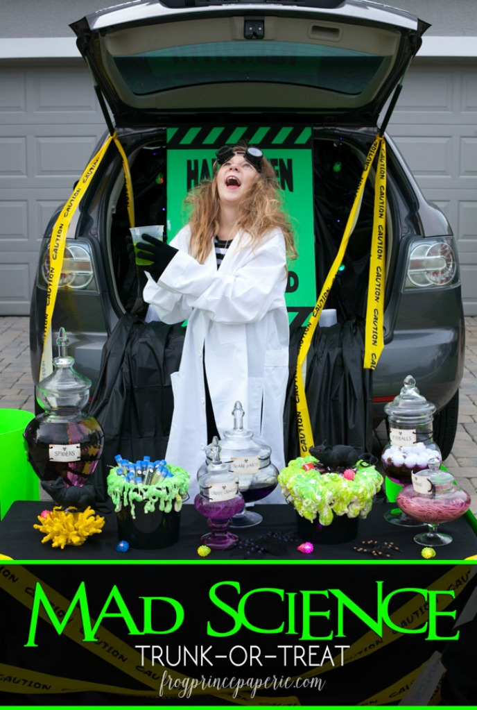 Mad Science Trunk or Treat Idea