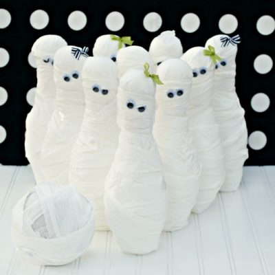 Mummy Bowling and Where's My Mummy Party Games