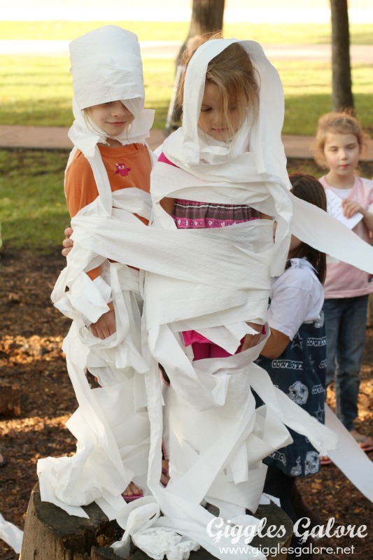 Halloween Clue Game