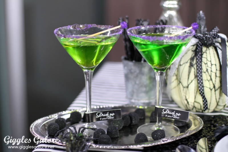 Poison Apple Halloween Drinks