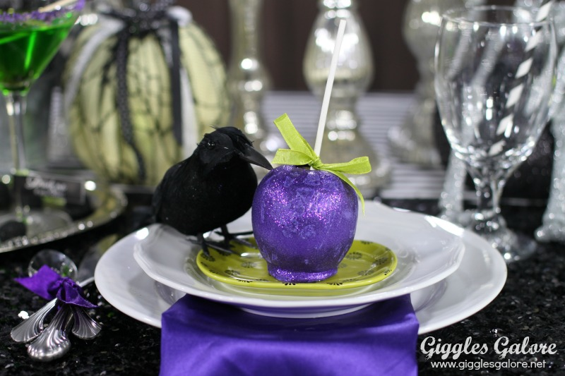 Poison Apple Halloween Place Cards