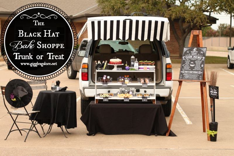 The Black Hat Bake Shoppe Trunk or Treat_Giggles Galore