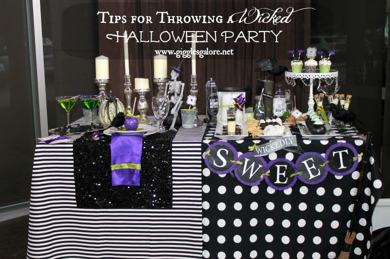 Tips for Throwing a Wicked Halloween Party Giggles Galore