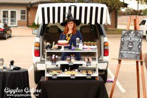 Trunk or treat black hat bake shoppe