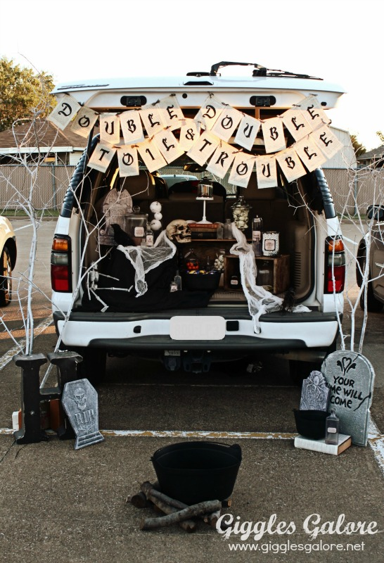 Trunk or Treat Double Double Toil and Trouble