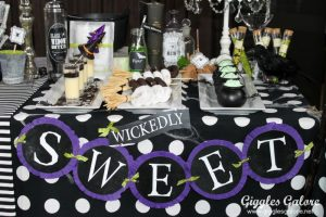 Wickedly Sweet Halloween Dessert Table