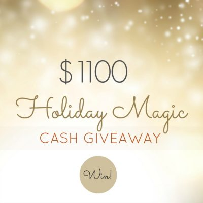 $1100 Holiday Magic Giveaway