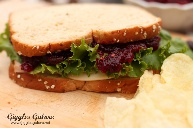 Chipotle Cranberry Turkey Sandwich