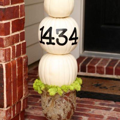 How to Make a Custom Pumpkin Topiary