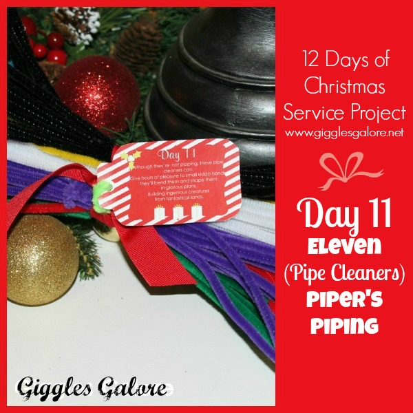 Giggles Galore 12 Days of Christmas Service Project Day 11
