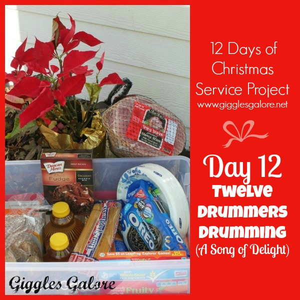 Giggles Galore 12 Days of Christmas Service Project Day 12