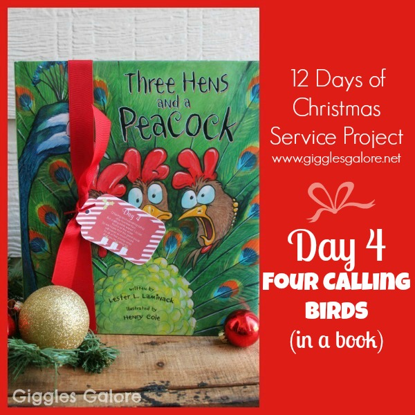 Giggles Galore 12 Days of Christmas Service Project Day 4