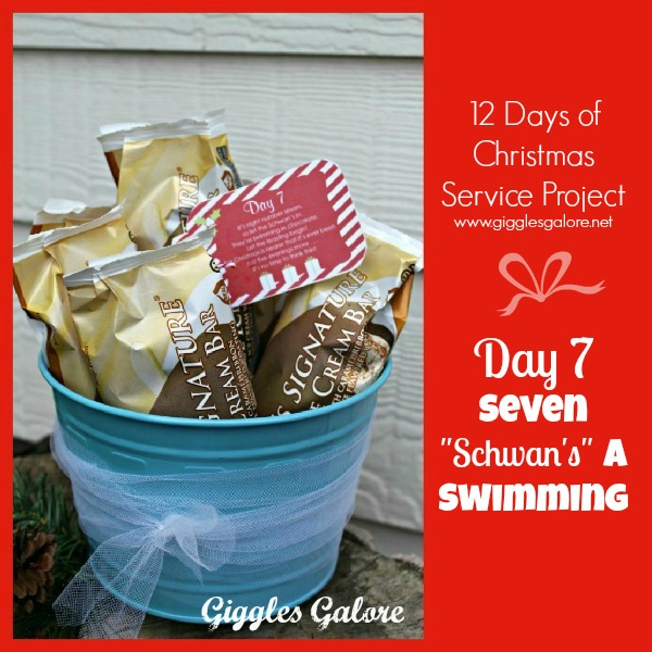Giggles Galore 12 Days of Christmas Service Project Day 7