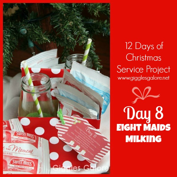 Giggles Galore 12 Days of Christmas Service Project Day 8