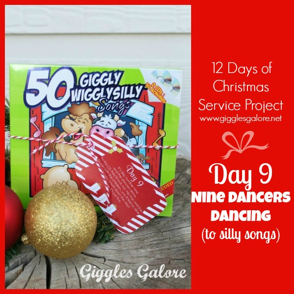 Giggles Galore 12 Days of Christmas Service Project Day 9