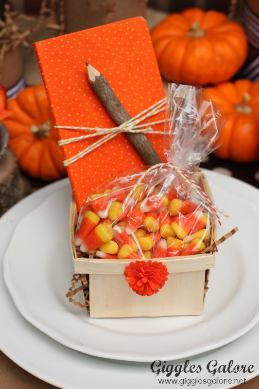 Kids Thanksgiving Table Favors
